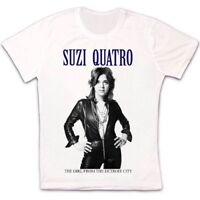 Suzi Quatro The Girl From The Detroit City Retro Vintage Unisex T Shirt 1781