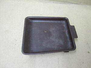 TOYOTA CRESSIDA 87-88 1987-1988 CONSOLE TRAY PANEL DARK RED cleaning required