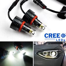 CREE 60W H8 LED Angel Eye Marker BMW E82 E88 E93 E90 E61 E63 X1 X5 Z4 M3 M6 Weiß