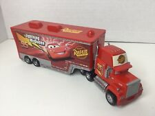 Disney Pixar Cars Deluxe Diecast - Mack Semi w/ Trailer- Loose Superliner Hauler