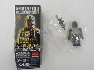 N MGS Metal Gear Solid Collector Edition #2 Old Snake Kubrick Medicom