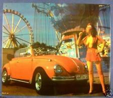 Älteres Blechschild Oldtimer VW Boxer Käfer Cabrio PKW seyx Girl gebraucht 1x.da