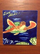 Ceramic Sea Turtle Hawaiian Honu Art Tile Live Aloha