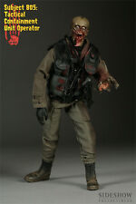 "Sideshow THE DEAD SUBJECT 805 TACTICAL CONTAINMENT 1/6 scale 12"" figure SEALED"