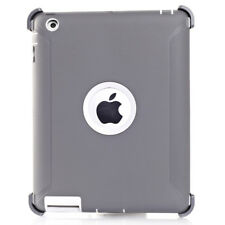 For iPad 2/3/4 Gen Case Cover (Shield Stand Fits for Otterbox Defender Series)