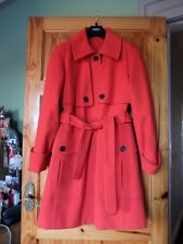 M&S Woman red ladies coat, size 16