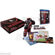 Deadpool El Corte Ingles Exclusive Blu-ray Collector Edition New&Seal-2025 Units