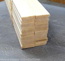 """A27 BALSA legno STRISCIA 1/4 X 1 - 6,5 mm x 25mm Lunghezza 12 """"Confezione da 45"""
