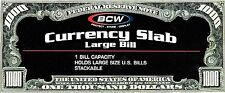 10 Large Bill Currency Slab Holders Factory Sealed Retail Packaging