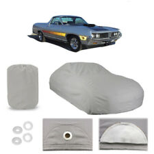 Fleeced Satin FS1254F5 Covercraft Custom Fit Car Cover for Select Ford Ranchero Models Black