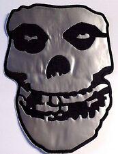Misfits Skull Bestickt Nähen oder bügeln Back Patch