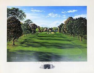 "William Grandison - Winged Foot Golf Club Art Print 24"" x 19"""