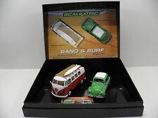 Scalextric c3371a Slot Car Set Sand & Surf VW Maggiolino U. t1b Limited Edition 1:32