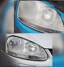 Cloudy Foggy Car Headlight Polishing Restoration Service PAIR