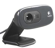 LOGITECH C270 HD Webcam - max. 1280 x 720 - integriertes Mikrofon - USB - 720p
