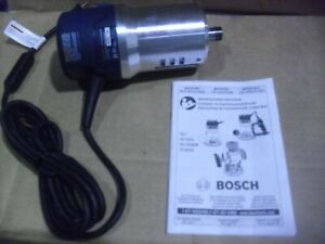 Bosch 2-1/4 HP Variable Speed Router Motor Model 1617EVS