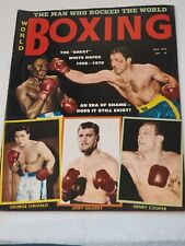 WORLD BOXING magazine JULY 1970 Excellent