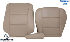 For 05 06 07 Toyota Land Cruiser-Passenger Side Complete Leather Seat Covers Tan