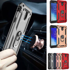 For Samsung Galaxy J7 2018 Star/Crown/Refine/Crown Ring Holder Armor Case Cover