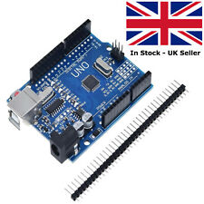 Arduino Uno R3, Rev3, 328, ATmega328P, CH340G Compatible Board with Pins