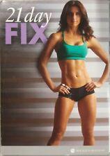 21 Day Fix Beachbody 2 DVD Discs With 9 Workouts - Pilates Cardio Yoga Abs, Etc.