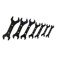 CNC Machined Aluminum 7 Double End Wrenches Complete Set 3AN - 20AN Hose Fitting