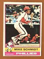 1976 Topps Mike Schmidt Card #480 VG/EX - Phillies HOF