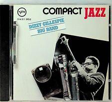 USA FULL SILVER *NO IFPI*- Dizzy Gillespie Big Band- Compact Jazz VERVE CD 1992