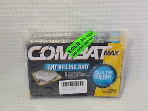 Combat Max Ant Killing Bait Stations - 45901 (2-Pack, 12ct) ***FREE SHIPPING***