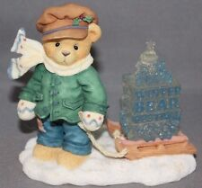 """Cherished Teddies James """"Going My Way For the Holidays"""" 1997 Enesco"""