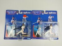 2x Mo Vaughn 1998 Boston Red Sox MLB Baseball Starting Lineup