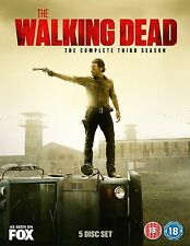 Walking Dead Complete Series 3 DVD All Episodes 3rd Third Season UK Release R2