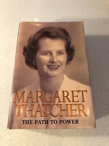 Margaret Thatcher, The Path to Power, signed book