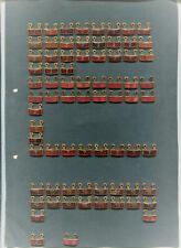 NVA   Bestenabzeichen Anhänger 74 Stück