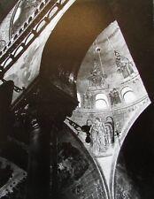 Wandgemälden Arkaden - sw Foto aus der 60er Jahre 21x28 cm signiert Fotokunst