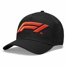 Formula 1 Tech Collection F1 Kids Large Logo Baseball Hat Black