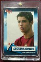 2004 Cristiano Ronaldo Rookie Review Magazine Card Manchester United PSA BGS GMA