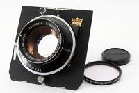 Fuji Fujinon L 210mm f/5.6 Lens Copal WISTA Borad Near Mint From JAPAN