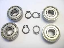 Studer REVOX C270, PR99, A77, B77 Lager und Seegerringe für 2 Wickelmotoren NEU