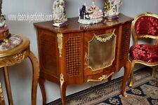 Servante-credenza in stile Luigi XV lastronata a marqueterie