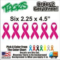 Bone//Sarcoma Cancer Ribbon 506 Die Cut Vinyl Window Decal//Sticker for Car//Truck