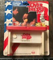 RARE Vintage Stallone OVER THE TOP Arm Wrestling Table- SEALED 1986