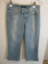 Clothing, Shoes & Accessories 100% Quality American Eagle Hipster Jeans Size 6 X 27 Distressed Light Wash Destroyed Wedding & Formal Occasion