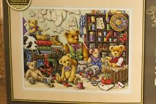 Counted Cross Stitch Kit DIMENSIONS GOLD COLLECTION - BUTTONS 'N BEARS. NEW