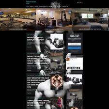 BODYBUILDING STORE - Professionally Designed Affiliate Website For Sale + Domain