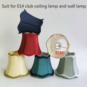 E14 Bulb Light Shades Chandelier Ceiling Light Lamp Shade Wall Lamp Covers Home