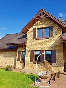 1 m² Sandstein Verblender, Riemchen, Wandverkleidung, Haussockel,