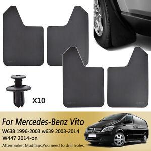For Mercedes Benz Vito W638 W639 W447 Mudflaps Mud Flaps Mudguards Splash Guards