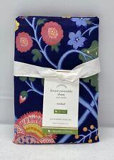 NEW Pottery Barn Kinzie Floral Reversible Organic Cotton STANDARD Sham