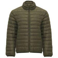 Chaqueta Hombre acolchada, relleno tacto Pluma. Prenda ligera de abrigo. Finland